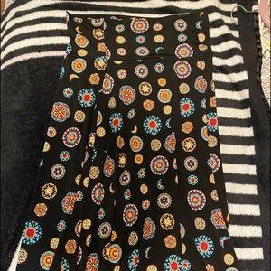 Beautiful lularoe maxi skirt